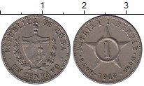 Изображение Монеты Куба 1 сентаво 1946 Медно-никель XF