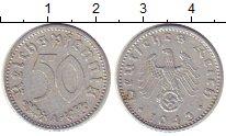 Изображение Монеты Третий Рейх 50 пфеннигов 1943 Алюминий XF