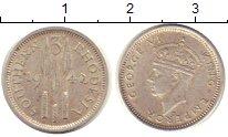 Изображение Монеты Родезия 3 пенса 1942 Серебро XF