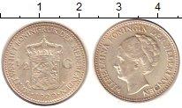 Изображение Монеты Нидерланды 1/2 гульдена 1929 Серебро UNC-