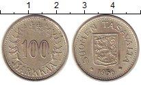 Изображение Монеты Финляндия 100 марок 1956 Серебро XF