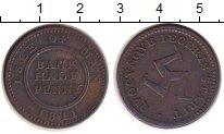 Изображение Монеты Великобритания Остров Мэн 1/2 пенни 1811 Медь XF