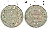 Изображение Монеты Веймарская республика 2 марки 1926 Серебро XF F