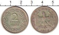 Изображение Монеты Веймарская республика 2 марки 1926 Серебро XF J