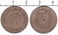 Изображение Монеты Германия 10 пфеннигов 1875 Медно-никель XF-