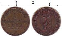 Изображение Монеты Германия Рейсс 1 пфенниг 1864 Медь XF