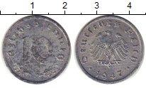 Изображение Монеты Германия 10 пфеннигов 1947 Цинк UNC-