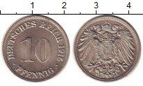 Изображение Монеты Германия 10 пфеннигов 1915 Медно-никель UNC-