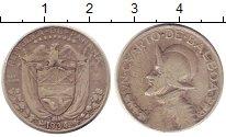 Изображение Монеты Панама 1/4 бальбоа 1934 Серебро VF