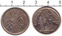 Изображение Монеты Индокитай 20 центов 1941 Медно-никель UNC