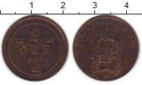 Изображение Монеты Швеция 2 эре 1881 Бронза XF