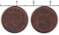 Изображение Монеты Норвегия 1 эре 1897 Бронза XF