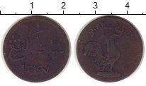 Изображение Монеты Малайя 1 кеппинг 1831 Медь VF Малакка.