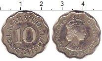 Изображение Монеты Маврикий 10 центов 1971 Медно-никель Proof-