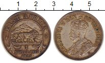 Изображение Монеты Великобритания Восточная Африка 1 шиллинг 1925 Серебро XF