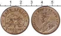 Изображение Монеты Великобритания Восточная Африка 1 шиллинг 1921 Серебро VF