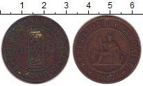 Изображение Монеты Индокитай 1 сантим 1887 Бронза VF