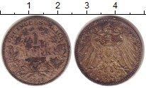 Изображение Монеты Германия 1 марка 1914 Серебро XF А