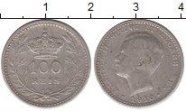 Изображение Монеты Португалия 100 рейс 1910 Серебро XF