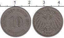 Изображение Монеты Германия 10 пфеннигов 1901 Медно-никель VF