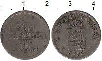 Изображение Монеты Саксония 2 гроша 1852 Серебро VF