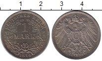 Изображение Монеты Германия 1 марка 1914 Серебро XF+ Е