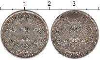 Изображение Монеты Германия 1/2 марки 1918 Серебро UNC- E
