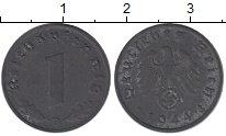 Изображение Монеты Третий Рейх 1 пфенниг 1944 Цинк UNC-