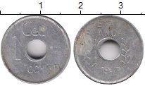 Изображение Монеты Индокитай 1 цент 1943 Алюминий XF-