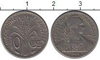 Изображение Монеты Индокитай 10 центов 1940 Медно-никель XF
