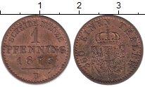Изображение Монеты Германия Пруссия 1 пфенниг 1873 Медь XF
