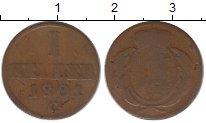Изображение Монеты Саксония 1 хеллер 1801 Медь VF