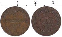 Изображение Монеты Германия Саксония 1 пфенниг 1862 Медь XF-