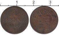 Изображение Монеты Саксония 1 пфенниг 1856 Медь VF