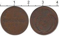 Изображение Монеты Германия Саксония 1 пфенниг 1805 Медь VF