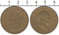 Изображение Монеты Дания 2 кроны 1951 Латунь XF