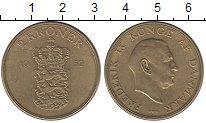 Изображение Монеты Дания 2 кроны 1952 Латунь XF