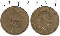 Изображение Монеты Дания 2 кроны 1953 Латунь XF