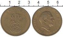 Изображение Монеты Дания 2 кроны 1955 Латунь XF