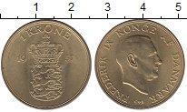 Изображение Монеты Дания Дания 1957 Латунь UNC-