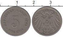 Изображение Монеты Германия Германия 1893 Медно-никель VF