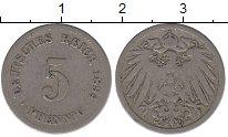 Изображение Монеты Германия 5 пфеннигов 1894 Медно-никель VF