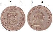 Изображение Монеты Ганновер 1/6 талера 1794 Серебро XF Георг III