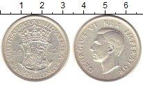 Изображение Монеты ЮАР 2 1/2 шиллинга 1942 Серебро XF