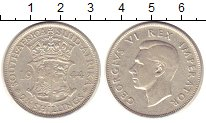 Изображение Монеты ЮАР 2 1/2 шиллинга 1944 Серебро XF