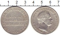 Изображение Монеты Пруссия 1 талер 1850 Серебро VF