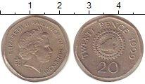 Изображение Монеты Гернси 20 пенсов 1999 Медно-никель XF Елизавета II