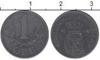 Изображение Монеты Дания 1 эре 1944 Цинк XF