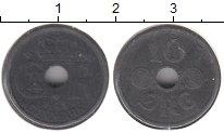 Изображение Монеты Дания 10 эре 1942 Цинк XF