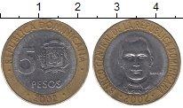 Изображение Монеты Доминиканская республика Доминиканская республика 2002 Биметалл XF